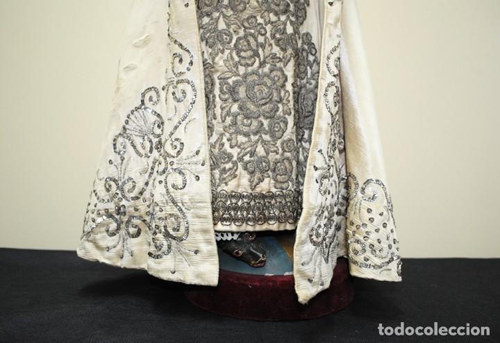 Arte: ANTIGUA VIRGEN DE MADERA TALLADA - VIRGEN CAP I POTA - Foto 10 - 147888166