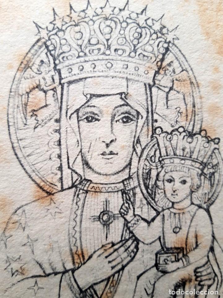 Arte: Reina de la Corona Polaca, Alexander L. Russell, 1942 , Tamaño del marco 22 x 16 cm - Foto 5 - 147894762
