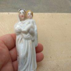 Arte: FIGURA VIRGEN CON EL NIÑO JESÚS EN PORCELANA. Lote 147912000