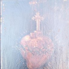 Arte: TABLA CORAZÓN. Lote 147927598