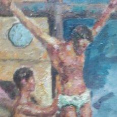 Arte: CRISTO CRUCIFICADO (OBRA DE CHRISTIANERMO ). Lote 147949258