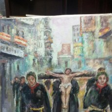 Arte: CRISTO CRUCIFICADO (OBRA DE CHRISTIANERMO ). Lote 147950046
