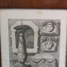 Arte: GIOVANNI BATISTTA PIRANESI (1720-1778). AGUAFUERTE. SIGLO XVIII.. Lote 148050526