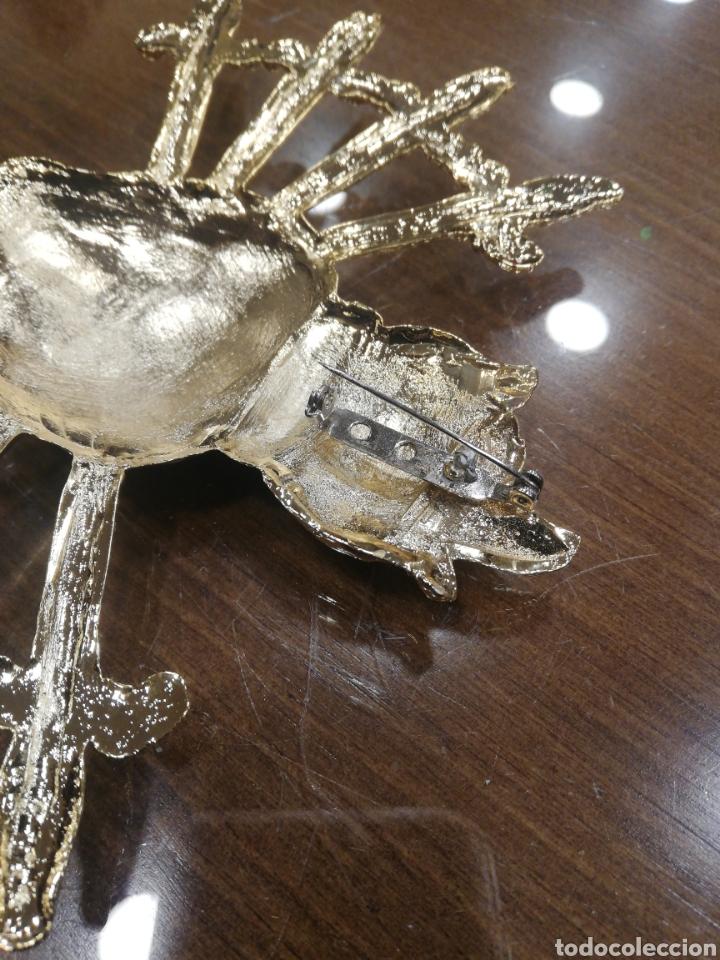 Arte: Corazón siete puñales para virgen metal plateado - Foto 5 - 146612098
