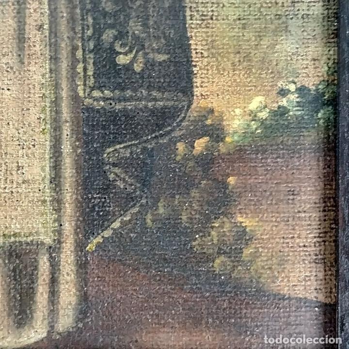 Arte: SANTA CATALINA DE ALEJANDRÍA Y SANTO DOMINGO. CUZQUEÑAS. ÓLEO. SUDAMÉRICA. XVIII - Foto 14 - 148165462