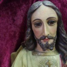 Arte: CRISTO REY - SAGRADO CORAZÓN DE JESÚS. Lote 148190062