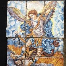 Arte: CUADRO DE LADRILLOS DE SAN MIGUEL CERÁMICA. Lote 148193432
