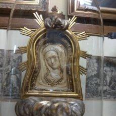 Arte: ESCULTURA VIRGEN DE LA CUEVA SANTA - CASTELLÓN -. Lote 148202464