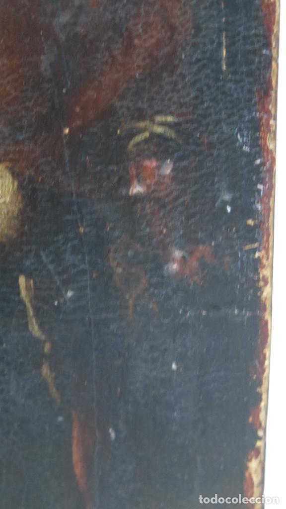 Arte: FLAGELACION DE CRISTO. OLEO SOBRE TABLA SIGLO XVII - Foto 7 - 148281606
