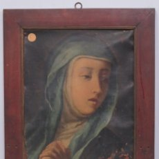 Arte: DOLOROSA. OLEO S/ LIENZO. SIGLO XVIII. Lote 148286374