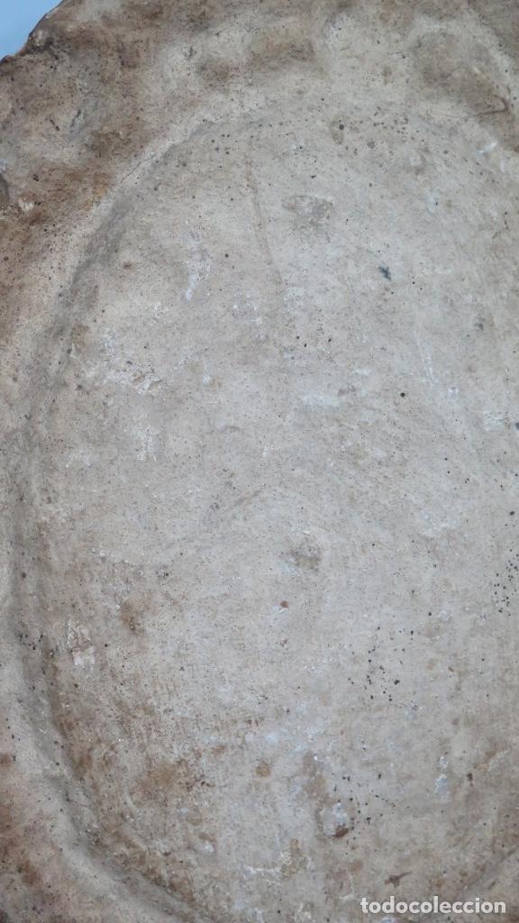 Arte: INTERESANTE PANOPLIA DE PAPIER MACHE. OLEO VIRGEN PILAR. SIGLO XVIII - Foto 11 - 148294930