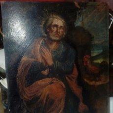 Arte: ESCUELA ESPAÑOLA. S.XVII-XVIII LAS LAGRIMAS DE SAN PEDRO OLEO SOBRE COBRE. Lote 148429066