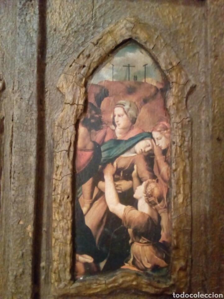 Arte: Retablo antiguo tabla - Foto 2 - 148550664