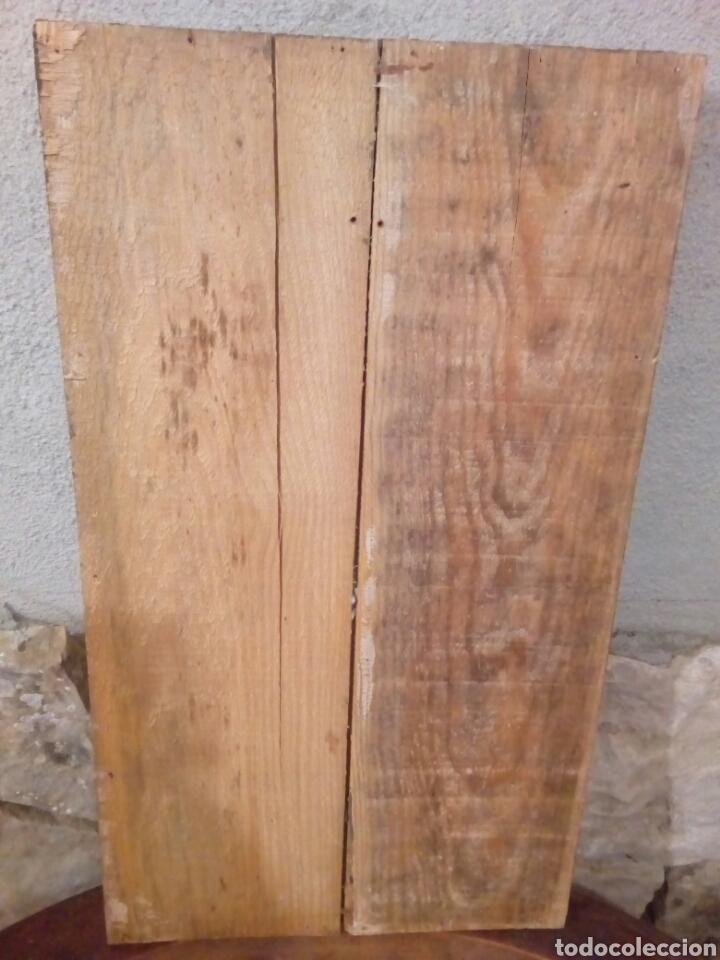 Arte: Retablo antiguo tabla - Foto 7 - 148550664