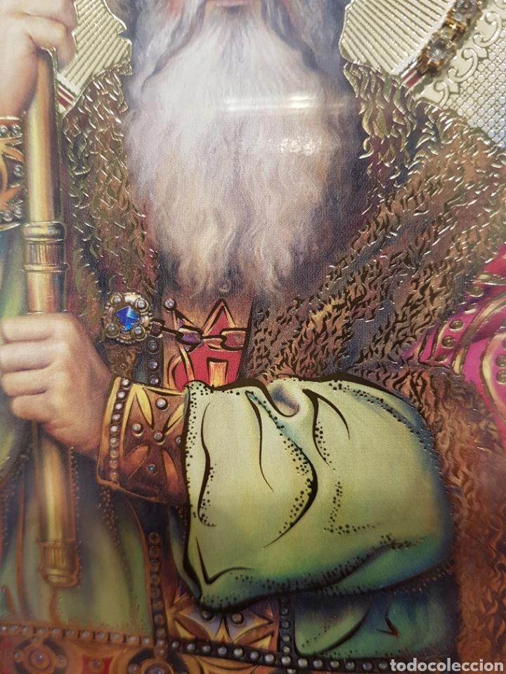 Arte: Icono San Nicolás. Ucrania (Kiev) - Foto 3 - 148599322