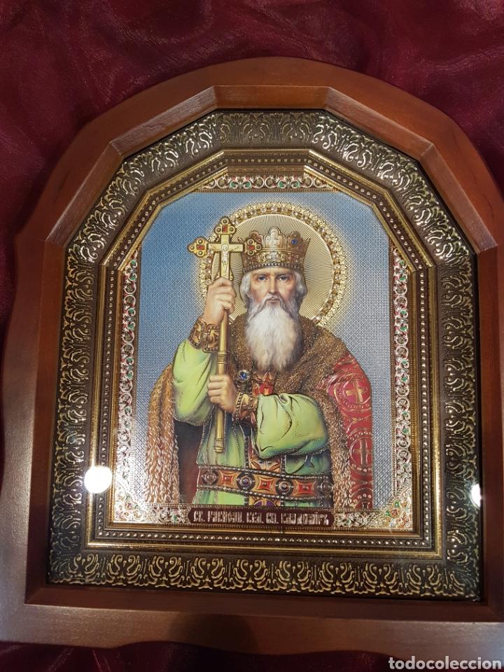 ICONO SAN NICOLÁS. UCRANIA (KIEV) (Arte - Arte Religioso - Iconos)