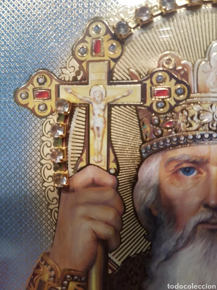 Arte: Icono San Nicolás. Ucrania (Kiev) - Foto 10 - 148599322