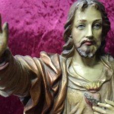 Arte: CRISTO REY - SAGRADO CORAZÓN DE JESÚS. Lote 148657114