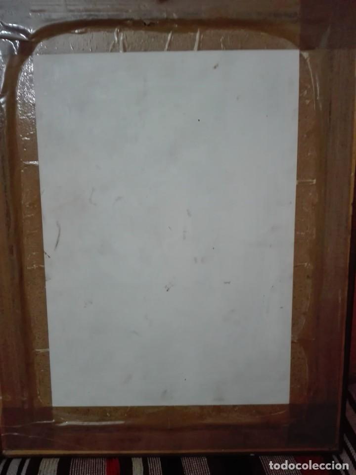Arte: Pintura de cristo firmado J dorado 1999 - Foto 4 - 148673638