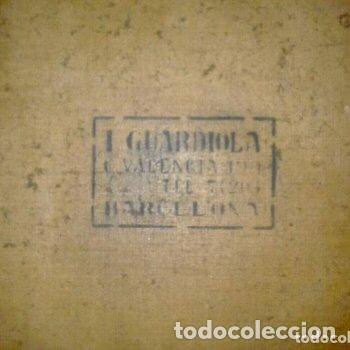 Arte: ADRIÀ GUAL QUERALT (BCN 1872-1943) (100x72,5 cm) LA ÚLTIMA CENA pieza de coleccionista - Foto 15 - 127431079