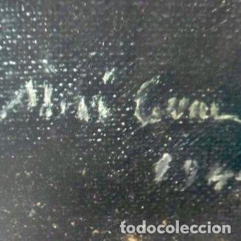 Arte: ADRIÀ GUAL QUERALT (BCN 1872-1943) (100x72,5 cm) LA ÚLTIMA CENA pieza de coleccionista - Foto 16 - 127431079