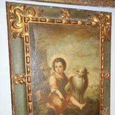 Arte: MURILLO, BARTOLOME ESTEBAN (SEVILLA 1617 - 1682), SEGUIDOR DE: SAN JUANITO. Lote 149356141