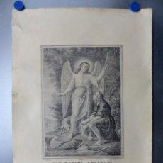 Arte: SAN RAFAEL ARCANGEL, V. AZNAR LITOGRAFIA DE SANCHIS, VALENCIA . Lote 149506626