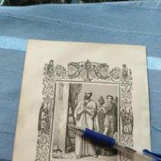 Arte: 1887 ANTIGUO GRABADO PORTUGUES RELIGIOSO - SAN GORGONIO Y MARTYRES. Lote 149525306