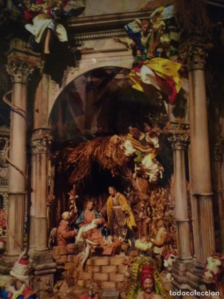 Arte: Nacimiento napolitano, precioso tabernaculo del s. XVIII para belen napolitano,Rebajado de 5000 eur - Foto 24 - 103977115