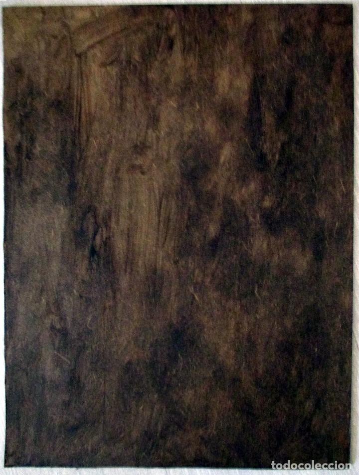 Arte: CRISTO. CRUCIFICADO. TABLILLA. ÓLEO. 40 X 30 CM. FIRMADO RUEDA, - Foto 4 - 149599606