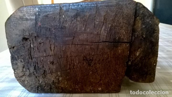 Arte: Antigua talla de San Juan. En madera.Medida 60 cm - Foto 16 - 149899182