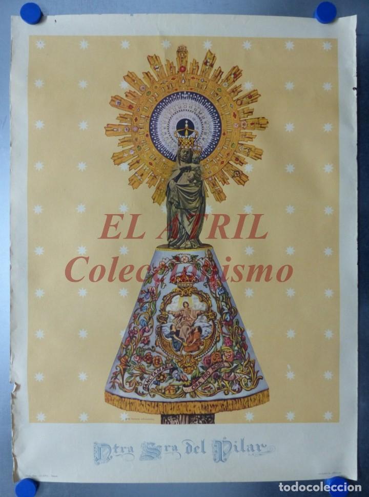 NUESTRA SEÑORA DEL PILAR, I.G. VILADOT, BARCELONA (Arte - Arte Religioso - Litografías)