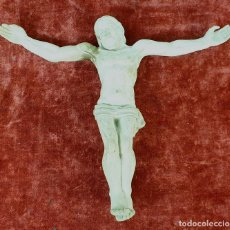 Arte: JESUCRISTO. ESCULTURA EN TERRACOTA. ATRIB. RAFAEL SOLANIC. SIGLO XX. . Lote 150748562