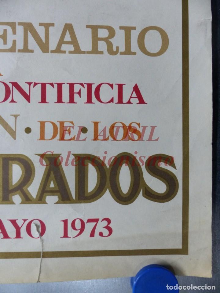 Arte: CINCUENTENARIO CORONACION PONTIFICA DE LA VIRGEN DE LOS DESAMPARADOS - VALENCIA - AÑO 1973 - Foto 2 - 150772550