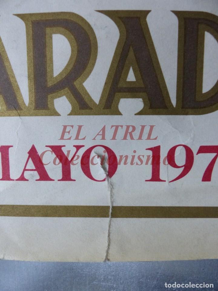 Arte: CINCUENTENARIO CORONACION PONTIFICA DE LA VIRGEN DE LOS DESAMPARADOS - VALENCIA - AÑO 1973 - Foto 3 - 150772550