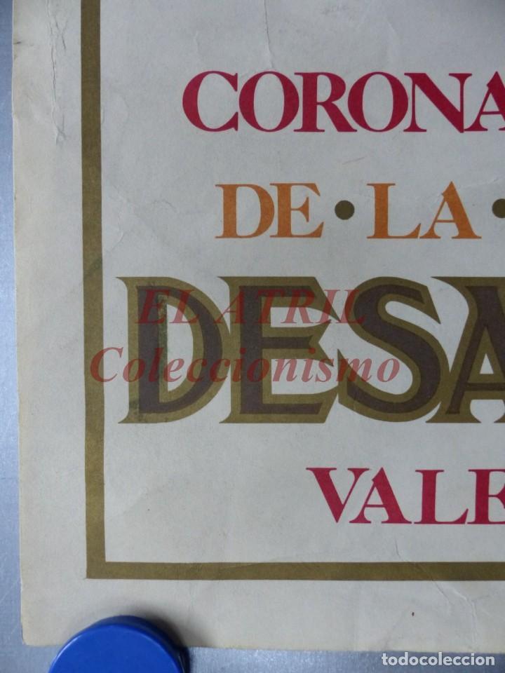 Arte: CINCUENTENARIO CORONACION PONTIFICA DE LA VIRGEN DE LOS DESAMPARADOS - VALENCIA - AÑO 1973 - Foto 4 - 150772550