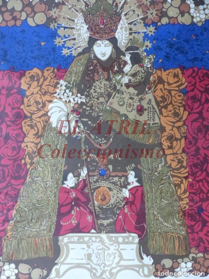 Arte: CINCUENTENARIO CORONACION PONTIFICA DE LA VIRGEN DE LOS DESAMPARADOS - VALENCIA - AÑO 1973 - Foto 7 - 150772550