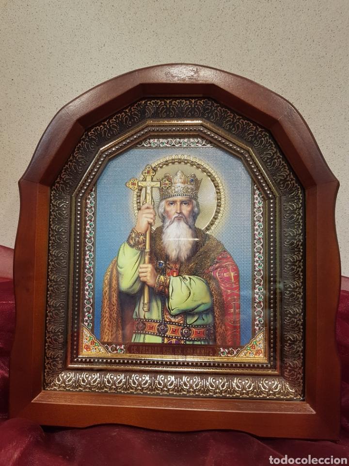 Arte: Icono San Nicolás. Ucrania (Kiev) - Foto 2 - 148599322