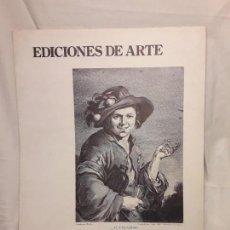 Arte: COLECCIÓN DE 10 GRABADOS ANTIGUOS. Lote 150983718