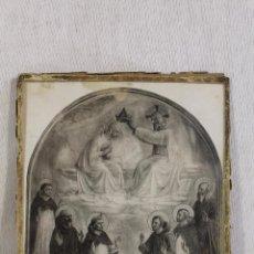 Arte: CORONACION DE LA VIRGEN ( BEATO ANGELICO ). Lote 151050530