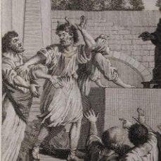 Arte: ACHAB JOSAFAT Y MICHEAS. PEDRO VICENTE RODRÍGUEZ. H. 1790-1794. BIBLIA. GRABADO. Lote 151336226