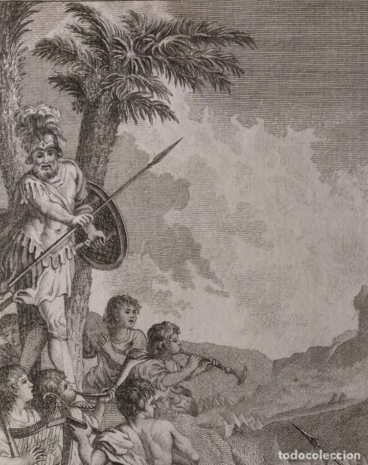 VICTORIA DE JOSAPHAT. FRANCISCO DE PAULA MARTÍ. H. 1790-1794. BIBLIA. GRABADO. NEOCLASICISMO. (Arte - Arte Religioso - Grabados)