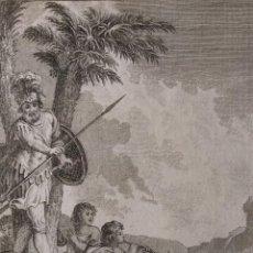 Arte: VICTORIA DE JOSAPHAT. FRANCISCO DE PAULA MARTÍ. H. 1790-1794. BIBLIA. GRABADO. NEOCLASICISMO. . Lote 151336562