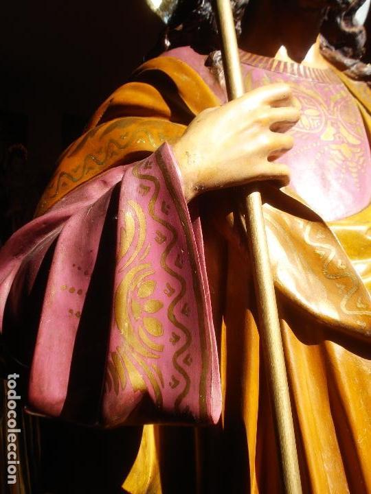 Arte: LAS ARTES RELIGIOSAS GRANDES MEDIDAS PARA ALTAR SAN JOSE CON NIÑO PASTA DE MADERA - Foto 9 - 151478166