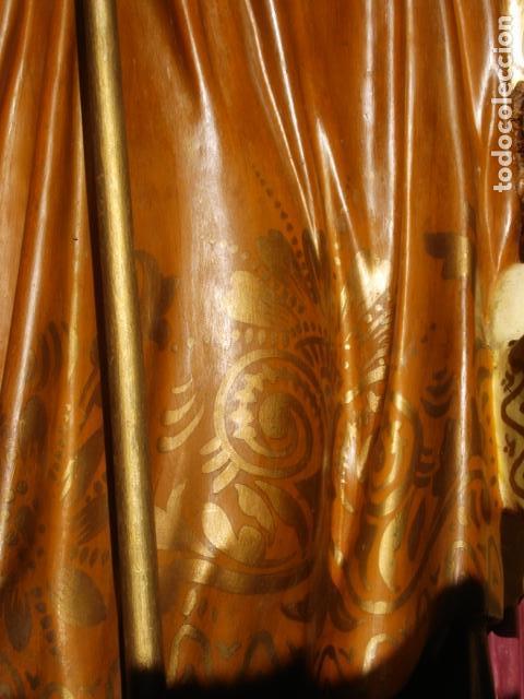 Arte: LAS ARTES RELIGIOSAS GRANDES MEDIDAS PARA ALTAR SAN JOSE CON NIÑO PASTA DE MADERA - Foto 11 - 151478166