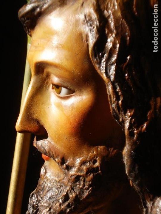 Arte: LAS ARTES RELIGIOSAS GRANDES MEDIDAS PARA ALTAR SAN JOSE CON NIÑO PASTA DE MADERA - Foto 15 - 151478166