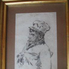 Arte: DIBUJO FINALES DEL XIX. ANÓNIMO. ESCUELA FRANCESA. Lote 151490362