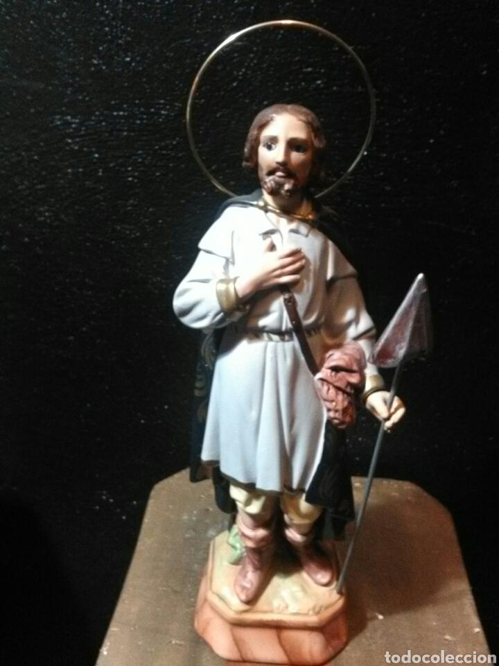 SAN ISIDRO LABRADOR 30 CM (Arte - Arte Religioso - Escultura)