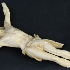 Art - Cristo en marfil tallado siglo XIX - 151539330