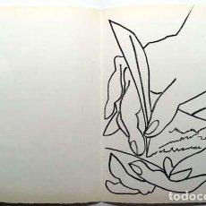Arte: FRANÇOISE GILOT : LITOGRAFÍA PERTENECIENTE AL LIBRO DE ARTISTA ´PAGES D'AMOUR´ (1951) (PICASSO). Lote 151562142